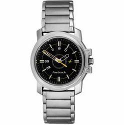 Silver Fastrack NG3039SM02 Basics Analog Watch - For Men
