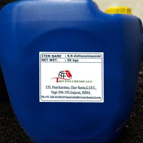 Liquid N,N-diethanololeamide, Packaging Type: Drum | ID