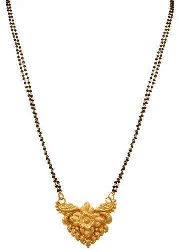 Jfl Gold Plated Designer Mangalsutra