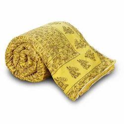 Rajasthani Hand Block Cotton Quilt 125