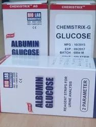 Urine Strip Glucose Test Chemistrix G Test Strip CC4103_DC4104