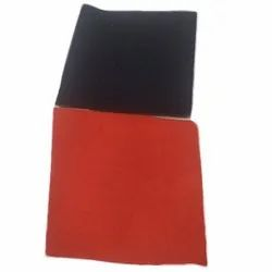 Plain Red And Black Lycra Fabric