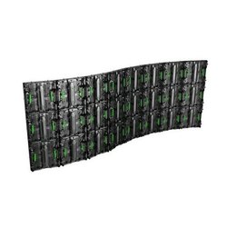 NVS P4.8 Outdoor Curve LED Video Wall