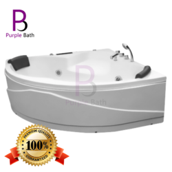 Elisa Corner Jacuzzi Massage Bathtub