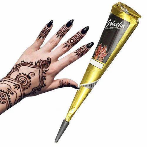 Best Henna Cones: Golecha Herbal Henna Cone, For Personal, Rs 200 /dozen