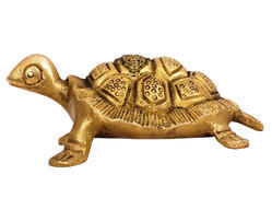 Indian Art Villa Brass Vastu Tortoise