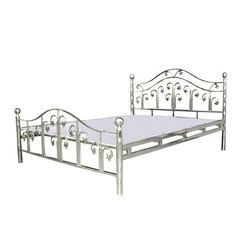 Polished Stainless Steel Single Bed, for Home, Size: 3 x 6 feet