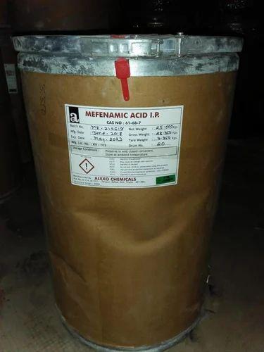 Alexo Powder Mefenamic Acid, Pack Size: 25 Kgs, Packaging Size: 25 Kgs