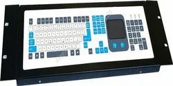 Computer Compatible Keyboard With Touch Pad