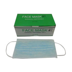 Mediserve Blue Surgical Disposable Face Mask