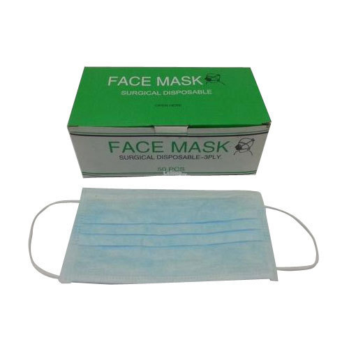 surgical disposable face masks