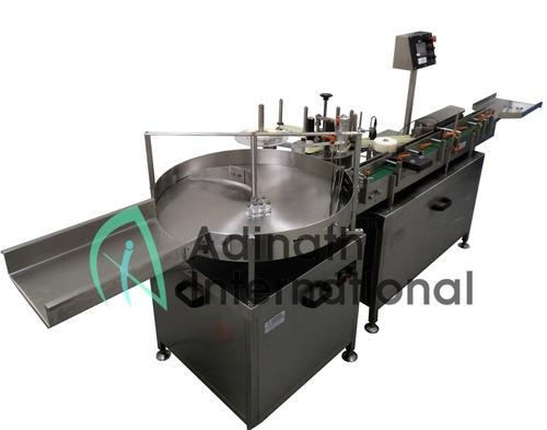 Adinath Automatic Vial Bottle Labeling Machine, Capacity: Depends upon model ,AVBLM