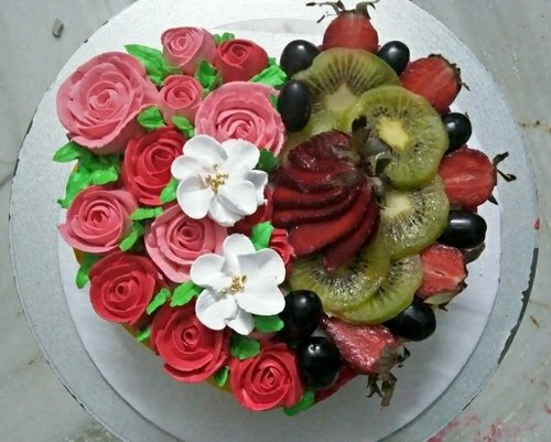 Enjoyable Fresh Fruit Birthday Cakes Mini Cups Home Personalised Birthday Cards Veneteletsinfo