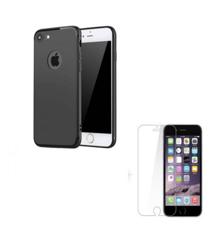 new concept d011b 61159 Iphone 7 Plus Designer Back Cover Tempered Glass