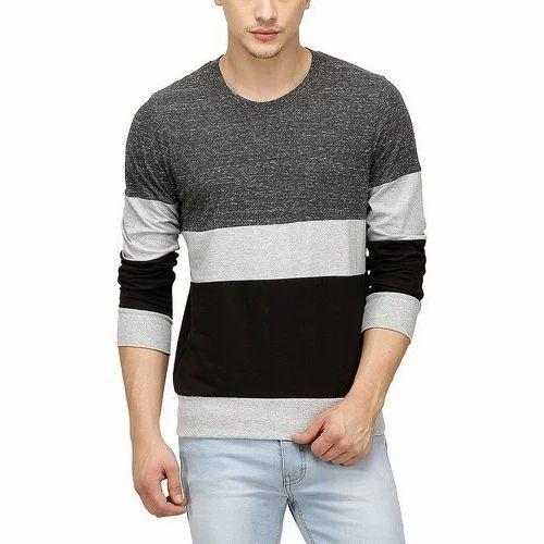 c314891b3100 Large Men  s Casual Woolen T-Shirt