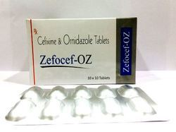 Cefixime 200 mg Ornidazole 500 mg Tablets
