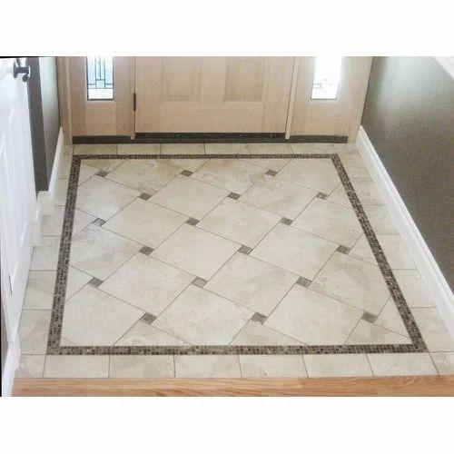 Ceramic Designer Floor Tile Rs Box Paras Tiles Sanitary - How many floor tiles come in a box