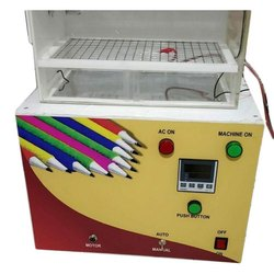 Mahal Industries Semi Automatic Velvet Paper and Polymer Pencil Making Machine