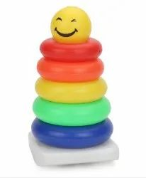 Smiley Stacking Ring Small