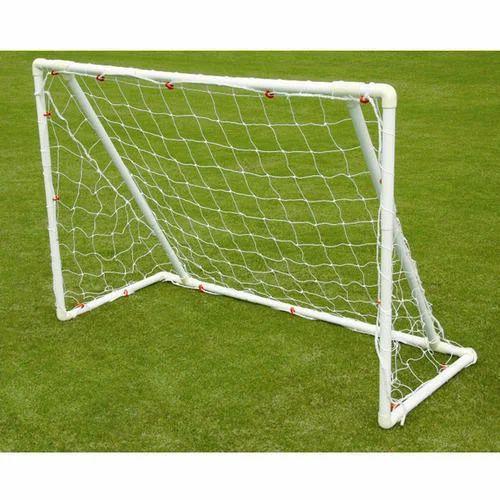 White Mini Soccer Goal Post 61f589c7f