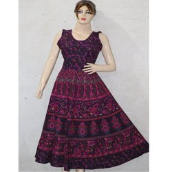 Jaipuri Print Long Gown