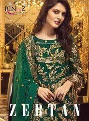Rinaz Fashion Zertan Pakistani Style Salwar Kameez Catalog Collection at Textile Mall