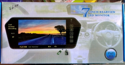 7 Inch Rear View LED Monitor