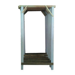 Brown And White Wooden Door Frame