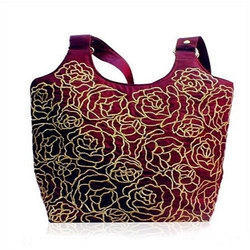 Fancy Silk Embroidered Bag