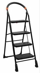 Parasnath Black 4 Steps Folding Ladder
