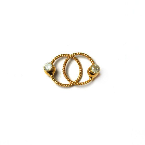 Golden 9mm Nose Rings Rs 1500 Piece Vishesh Jewels Craft