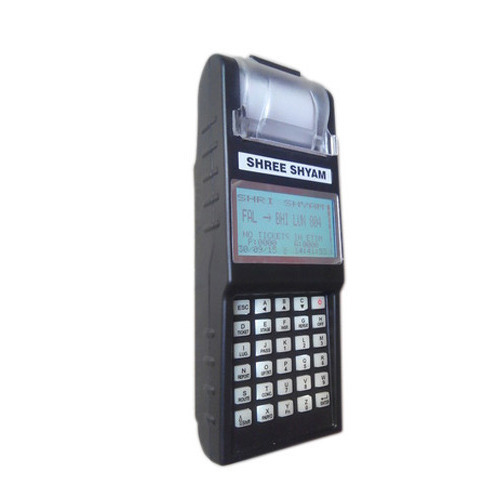 Shree Shyam Automatic Parking Ticketing Machine, Battery Capacity: 2600 Mah