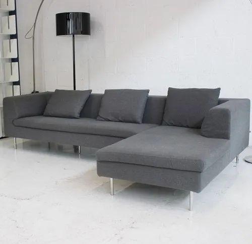 Sofa Set Size: Gray Wood Commercial Sofa Set, Size: 7x7, Rs 36000 /set