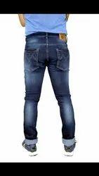 Black Cotton Mens Jeans, Waist Size: 34 And 36
