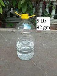 Transparent 5 Litre PET Bottle, Usage: Phenyl