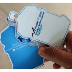 Customized logo keychain
