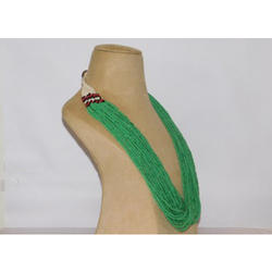 Box Green Pottery Necklace