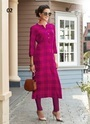 Rayon Printed Party Wear Kurti