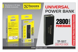 Troops Tp-1017 2800mah Power Bank Black