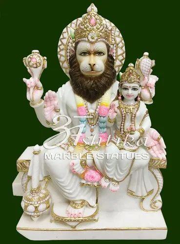 Marble Varaha Avtar Statue
