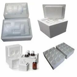 Thermocol Medicine Packaging Box