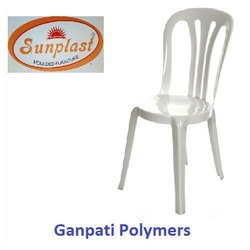 White Garden Plastic Chair