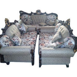 Designer Fl Print Sofa Set At Rs