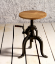 Marseilles Cast Iron Crank Mechanism Cafe & Bar table
