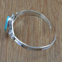 925 Sterling Silver Jewelry Bangles Turquoise Gemstone