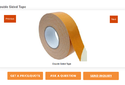 Iji-42 20mtrs Double Sided Clothtape, For Flexo, Size: 1 Inch
