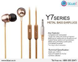 Y-7 Series Metal Bass Earplugs