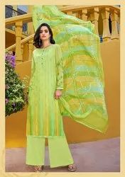 Pr Fashion Launched Lovely Designer Straight Suit
