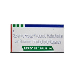 Propranolol Hydrochloride and Flunarizine Dihydrochloride Capsules