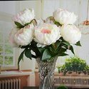 Pink Peony Artificial Flower Bouquet